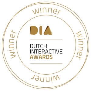 Winner Dutch Interactive Awards